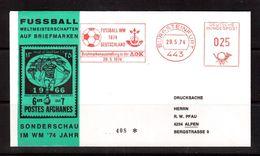 World Cup-1974, Cover(red Meter), Football, Soccer, Fussball,calcio - Coppa Del Mondo