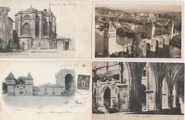 18 / 1 / 463  -    LOT  DE  7  CPA  &  1  CPSM  DE  CAHORS  ( 46 )  Toutes Scanées - Cartes Postales