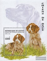 Guinea Block503 (complete Issue) Unmounted Mint / Never Hinged 1996 Dogs - Guinea (1958-...)