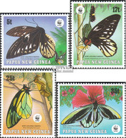 Papua-Neuguinea 574-577 (kompl.Ausg.) Postfrisch 1988 Vogelfalter - Papua New Guinea