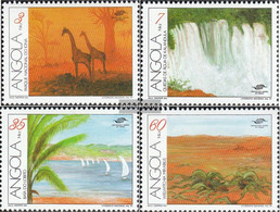 Angola 850-853 (complete.issue.) Unmounted Mint / Never Hinged 1991 Tourism - Angola