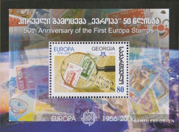 Georgia Block37 (complete.issue.) Unmounted Mint / Never Hinged 2006 50 Years Europe Trade - Georgia