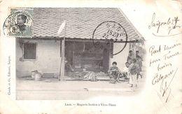 ¤¤  -  LAOS   -  Magasin Laotien à VIEN-TIAN   -  ¤¤ - Laos