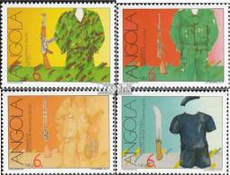 Angola 842A-845A (kompl.Ausg.) Postfrisch 1991 Freiheitskampf - Angola