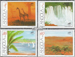 Angola 850-853 (kompl.Ausg.) Postfrisch 1991 Tourismus - Angola
