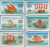 Libyen 1115-1120 (kompl.Ausg.) Postfrisch 1983 Meeresorganisation - Libia