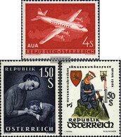 Austria 1041,1042,1043 (complete.issue.) Unmounted Mint / Never Hinged 1958 Special Stamps - 1945-.... 2nd Republic