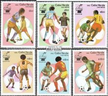 Kap Verde 458-463 (kompl.Ausg.) Postfrisch 1982 Fußballweltmeisterschaft - Kap Verde