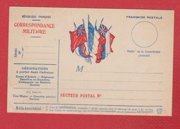 Correspondance Militaire --  22 Juin 1914 - Cartes De Franchise Militaire