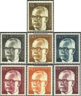 Berlin (West) 427-433 (complete.issue) Unmounted Mint / Never Hinged 1972 Gustav Heinemann - Unused Stamps