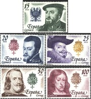 Spain 2444-2448 (complete Issue) Unmounted Mint / Never Hinged 1979 Spanish Kings - 1931-Hoy: 2ª República - ... Juan Carlos I