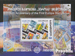 Georgien Block35 (kompl.Ausg.) Postfrisch 2006 50 Jahre Europamarken - Georgien