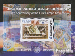 Georgien Block36 (kompl.Ausg.) Postfrisch 2006 50 Jahre Europamarken - Georgien
