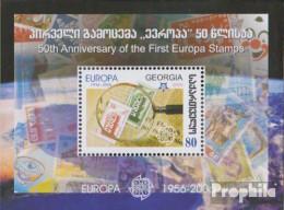 Georgien Block37 (kompl.Ausg.) Postfrisch 2006 50 Jahre Europamarken - Georgien