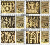 Vatikanstadt 711-716 (complete Issue) Unmounted Mint / Never Hinged 1977 Sarcophagi - Vatican