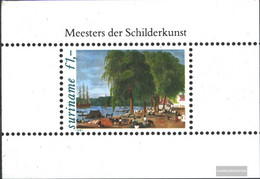 Suriname Block31 (complete Issue) Unmounted Mint / Never Hinged 1981 Paintings - Surinam