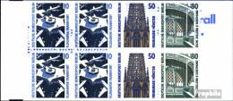 Berlin (West) MH14 (kompl.Ausg.) Postfrisch 1989 Sehenswürdigkeiten - [5] Berlino