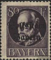 Bavaria 127II A Unmounted Mint / Never Hinged 1919 King Ludwig With Print - Bavaria