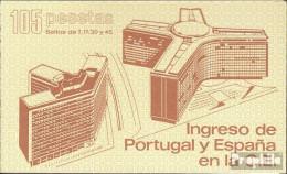 Spanien MH1 (kompl.Ausg.) Postfrisch 1986 Beitritt Zur EG - Spanien