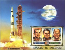 Umm Al Kaiwain Block42 (kompl.Ausg.) Postfrisch 1972 Apollo 15 - Umm Al-Qaiwain