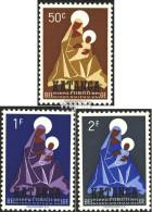 Katanga 1-3 (kompl.Ausg.) Postfrisch 1960 Aufdruckausgabe - Katanga