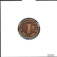 German Empire Jägernr: 361 1939 A Extremely Fine Bronze Extremely Fine 1939 1 Reich Pfennig Imperial Eagle - [ 4] 1933-1945 : Third Reich