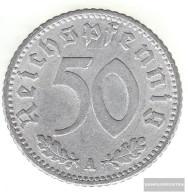 German Empire Jägernr: 368 1935 A Very Fine Aluminum Very Fine 1935 50 Reich Pfennig Imperial Eagle - [ 4] 1933-1945 : Third Reich