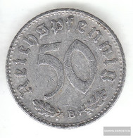 German Empire Jägernr: 372 1943 B Very Fine Aluminum Very Fine 1943 50 Reich Pfennig Imperial Eagle - [ 4] 1933-1945 : Third Reich
