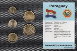 Paraguay Stgl./unzirkuliert Kursmünzen Stgl./unzirkuliert 1990-1998 1 Guarani Until 100 Guarani - Paraguay
