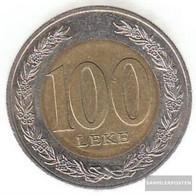 Albania Km-number. : 80 2000 Very Fine Bimetall Very Fine 2000 100 Leke Teuta - Albania