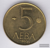 Bulgaria Km-number. : 204 1992 Extremely Fine Nickel-brass Extremely Fine 1992 5 Leva Reiter - Bulgaria