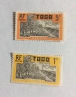 Lot De 2  Timbres  Du Togo  (Cocotier) - Togo (1960-...)