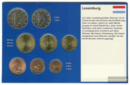 Luxembourg 2005 Stgl./unzirkuliert Kursmünzensatz Stgl./unzirkuliert 2005 Euro Reprint - Luxembourg