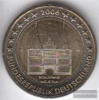 FRD (FR.Germany) Jägernr: 519 2006 A Stgl./unzirkuliert Stgl./unzirkuliert 2006 2 Euro Holstentor Lübeck - Germany