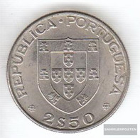 Portugal Km-number. : 605 1977 Extremely Fine Copper-Nickel Extremely Fine 1977 2-1/2 Escudos Herculano - Portugal