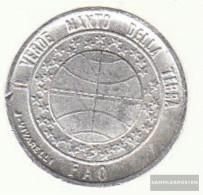 San Marino Km-number. : 63 1977 Extremely Fine Aluminum Extremely Fine 1977 1 Lira Fao - San Marino