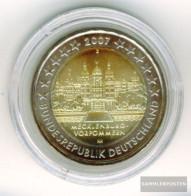 FRD (FR.Germany) Jägernr: 526 2007 D Stgl./unzirkuliert Stgl./unzirkuliert 2007 2 Euro Schweriner Castle - Germany