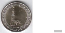 FRD (FR.Germany) Jägernr: 534 2008 J Stgl./unzirkuliert Stgl./unzirkuliert 2008 2 Euro Hamburger Michel - Germany