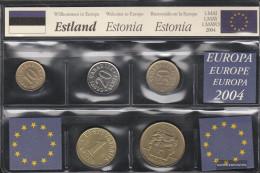Estonia Stgl./unzirkuliert Last Completely.issue Before Euro-Introduction Stgl./unzirkuliert 1991-2008 10 Senti Until 5 - Estonie