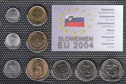 Slovenia Stgl./unzirkuliert Kursmünzen Stgl./unzirkuliert 1992-2004 10 Stotin Until 50 Tolar - Slovenia