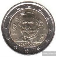Italy 2013 Stgl./unzirkuliert Reprint: 10 Million. Stgl./unzirkuliert 2013 2 Euro Giuseppe Verdi - Italy