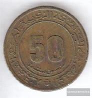 Algeria Km-number. : 109 1975 Very Fine Aluminum-Bronze Very Fine 1975 50 Centimes Anniversary - Algeria