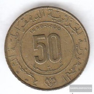 Algeria Km-number. : 111 1980 Very Fine Aluminum-Bronze Very Fine 1980 50 Centimes 1400 Years Mohammedfluc - Algeria