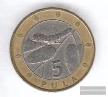 Botswana Km-number. : 30 2000 Very Fine Bimetall Very Fine 2000 5 Pula Crest - Botswana