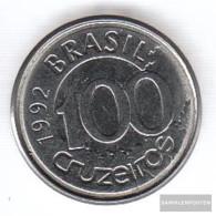 Brazil Km-number. : 623 1992 Extremely Fine Steel Extremely Fine 1992 100 Cruzeiros Manatee - Brazil