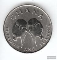 Ghana Km-number. : 31a 1999 Stgl./unzirkuliert Steel Stgl./unzirkuliert 1999 50 Cedis Drums - Ghana