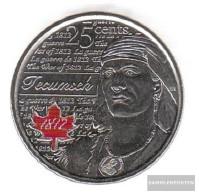 Canada Km-number. : 1324a 2012 Stgl./unzirkuliert Steel, Coloriert Stgl./unzirkuliert 2012 25 Cents Farbmünze Elizabeth - Canada