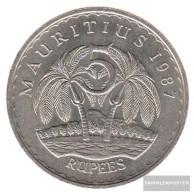 Mauritius Km-number. : 56 1987 Very Fine Copper-Nickel Very Fine 1987 5 Rupien Ramgoolam - Mauritius