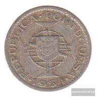 Mosambik Km-number. : 78 1953 Very Fine Copper-Nickel Very Fine 1953 2 1/2 Escudos Crest - Mozambique