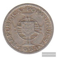 Mosambik Km-number. : 78 1954 Very Fine Copper-Nickel Very Fine 1954 2 1/2 Escudos Crest - Mozambique